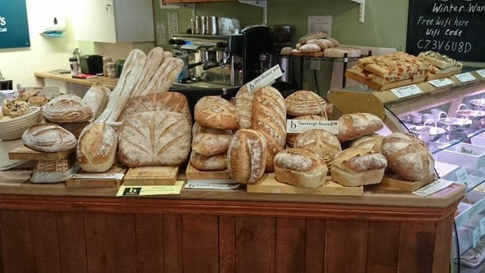 Beautiful bread display