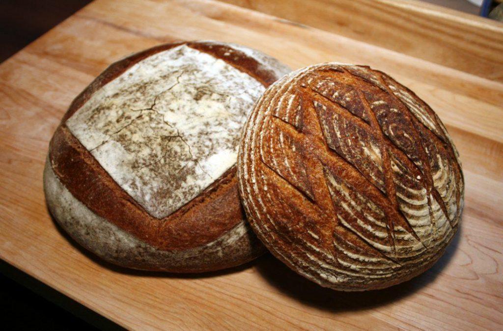 Sourdough bread makes great slices