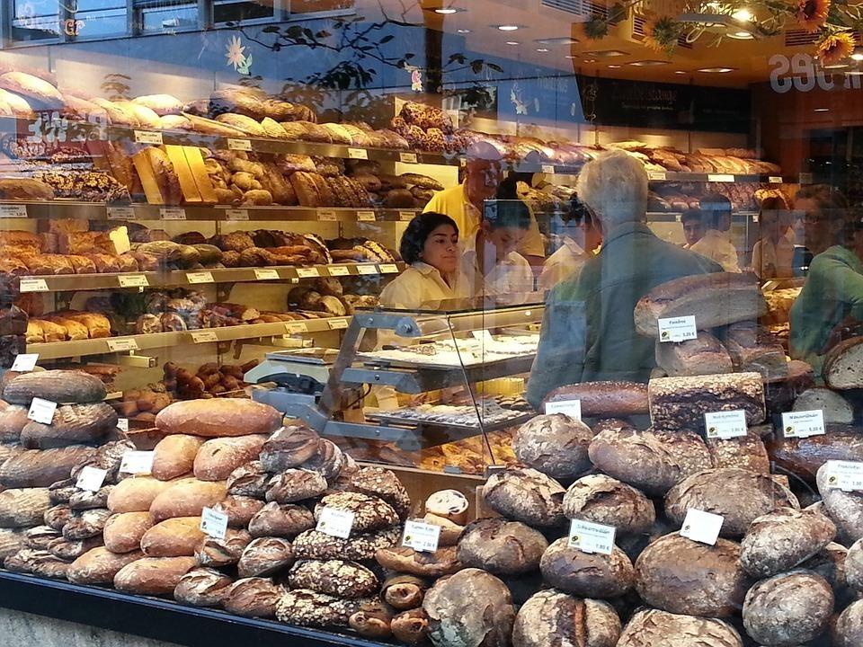 Professional baker shop