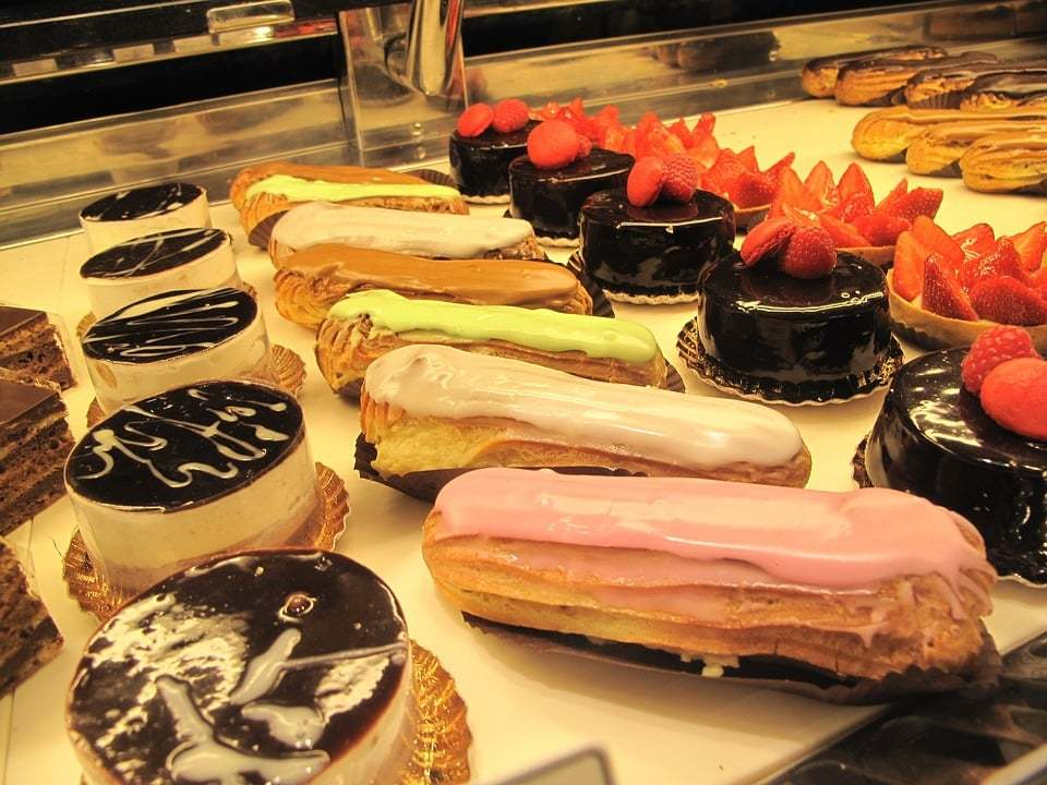 great bakery eclairs