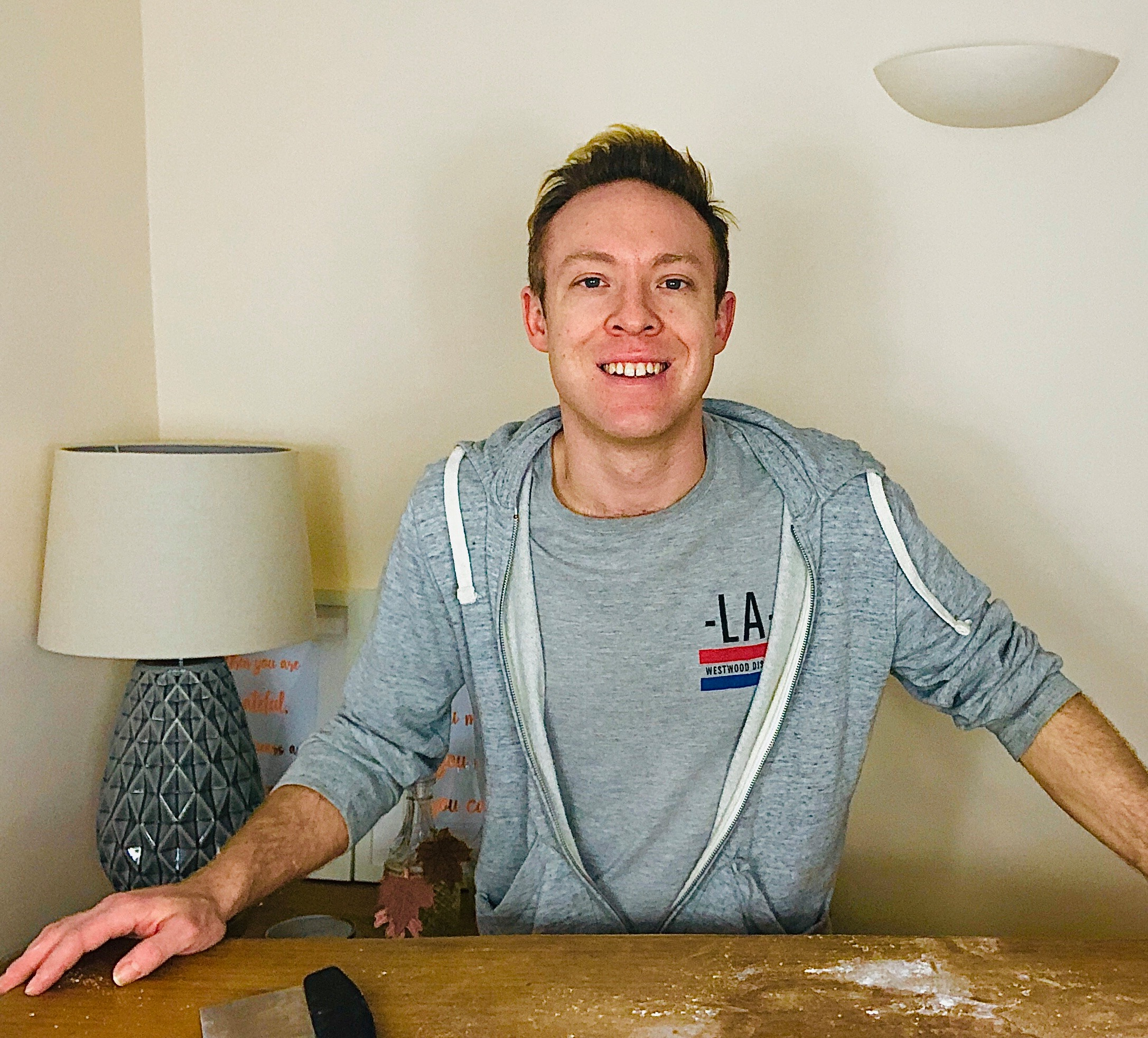 How to make bread at home with Gareth