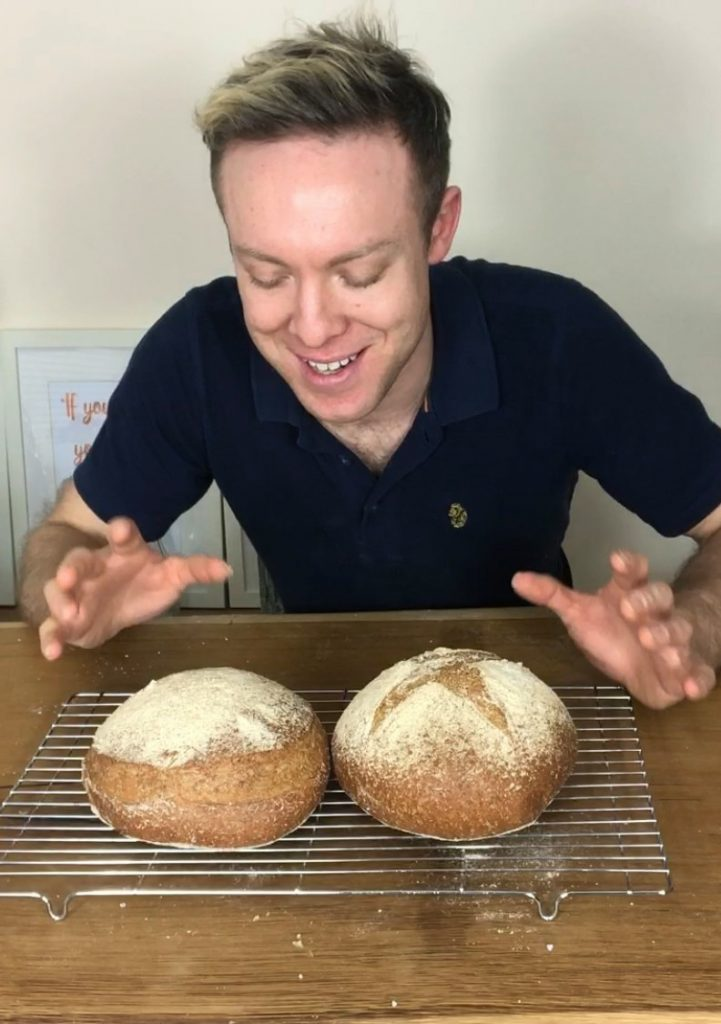 Wholemeal country cob