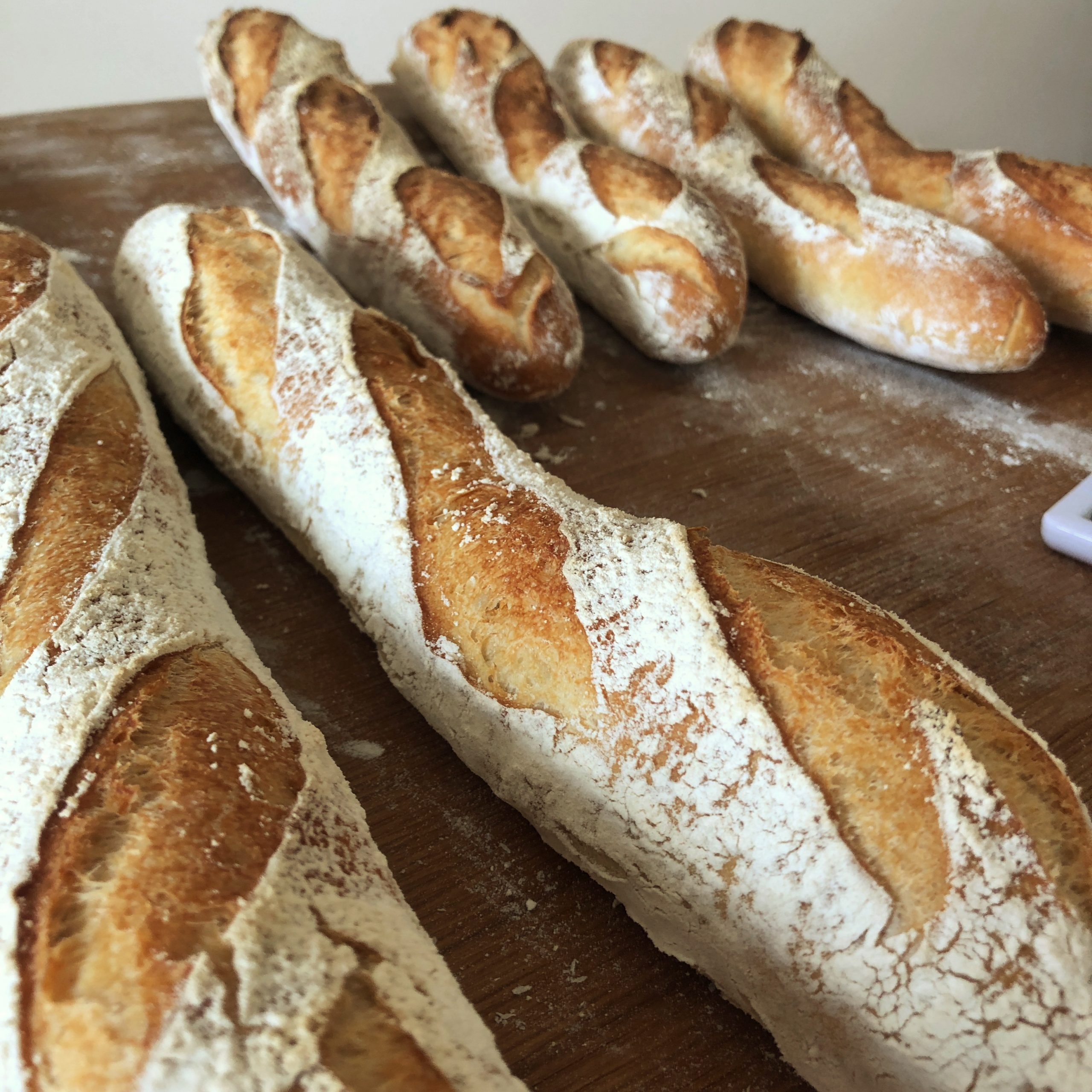 SOurdough baguette recipe thumbnail