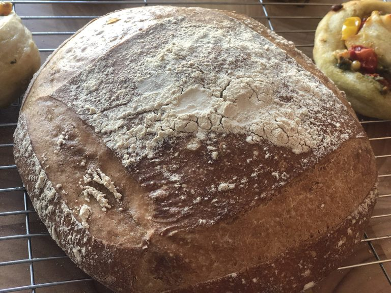 Pane Cassericio recipe, Italian country bread