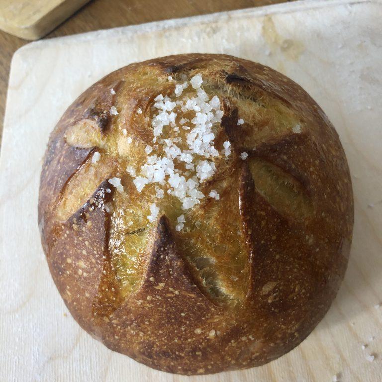 Italian Rosemary Sourdough Bread Recipe (Pane Marino)