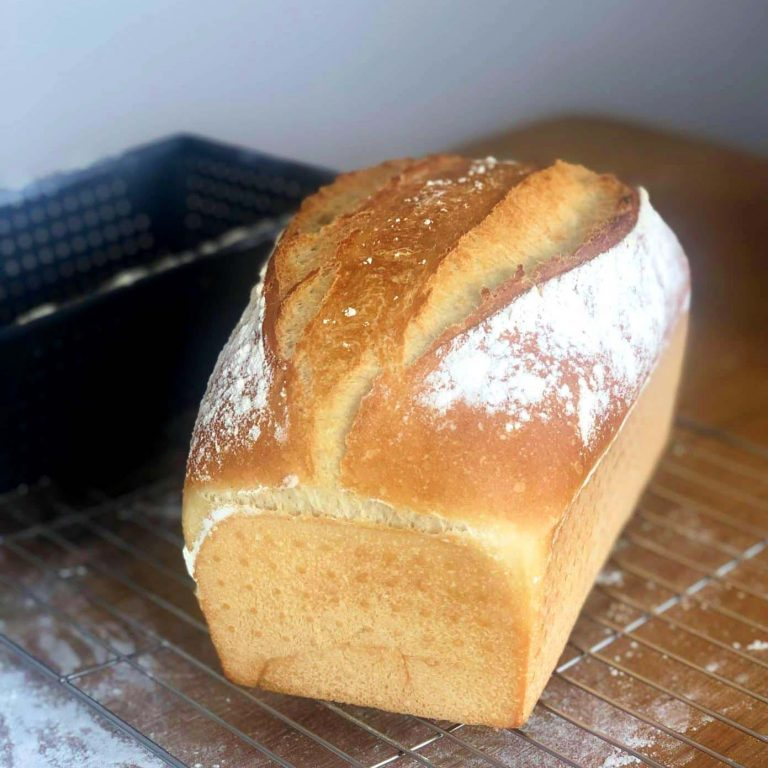 White Tin Bread Recipe with Perfect Texture
