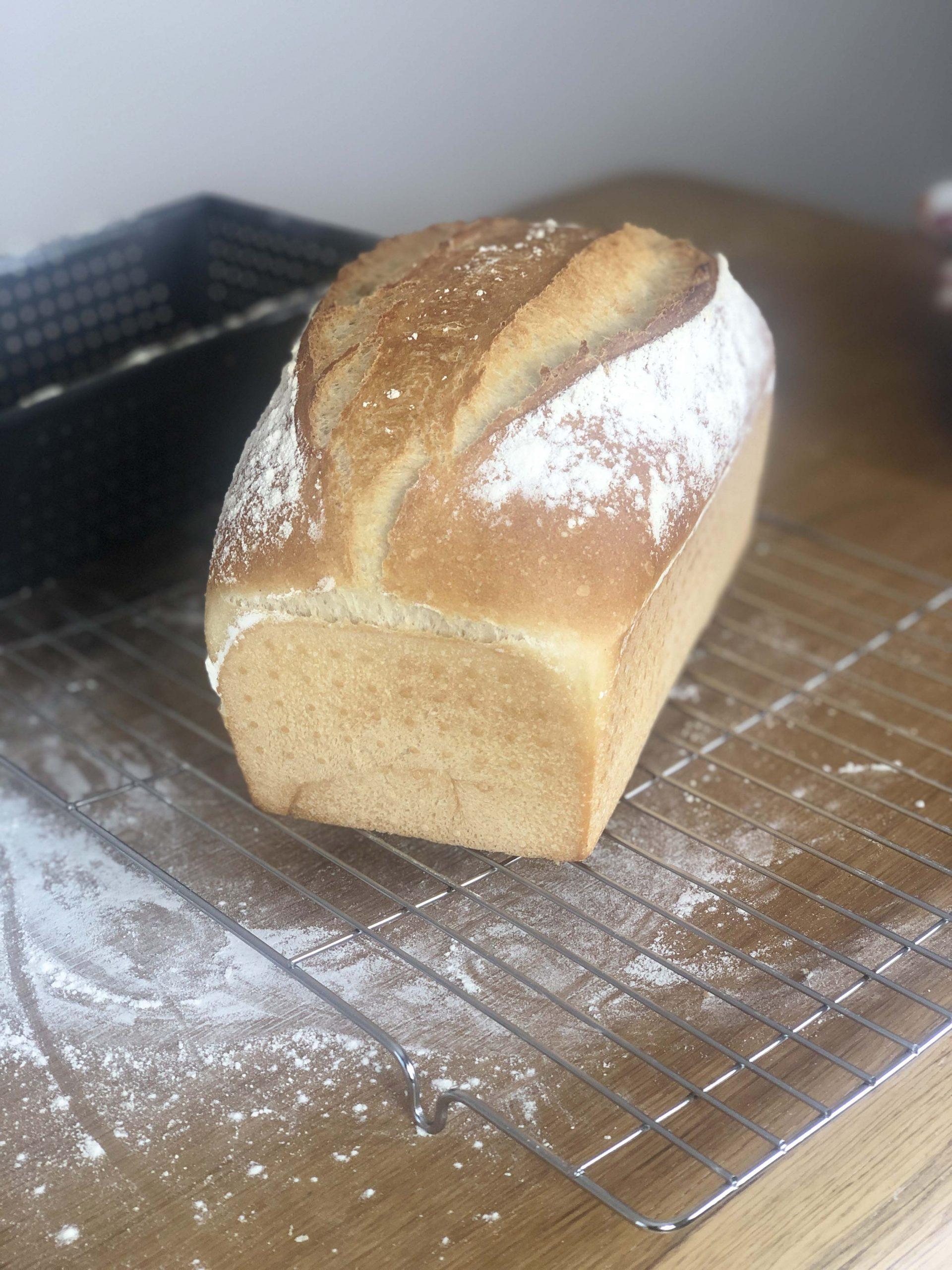 White tin bread recipe