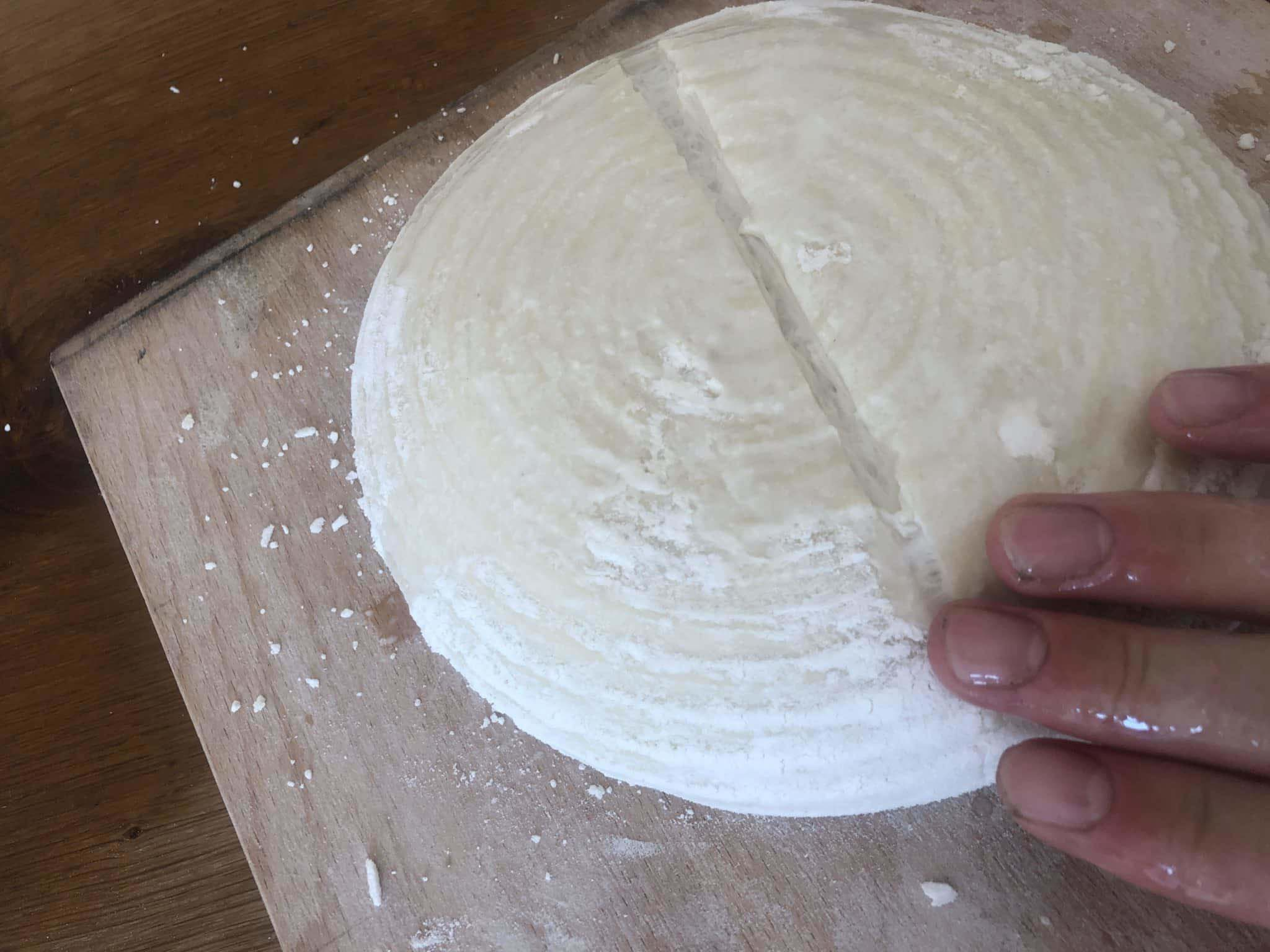 adding water to the bread directly