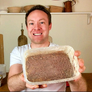 How to revive a mouldy starter