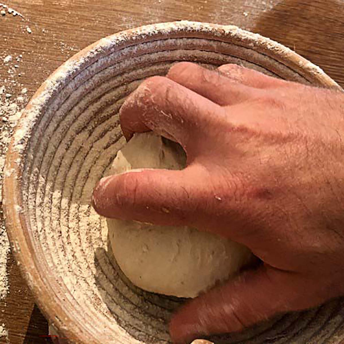 Dough proofing timetable