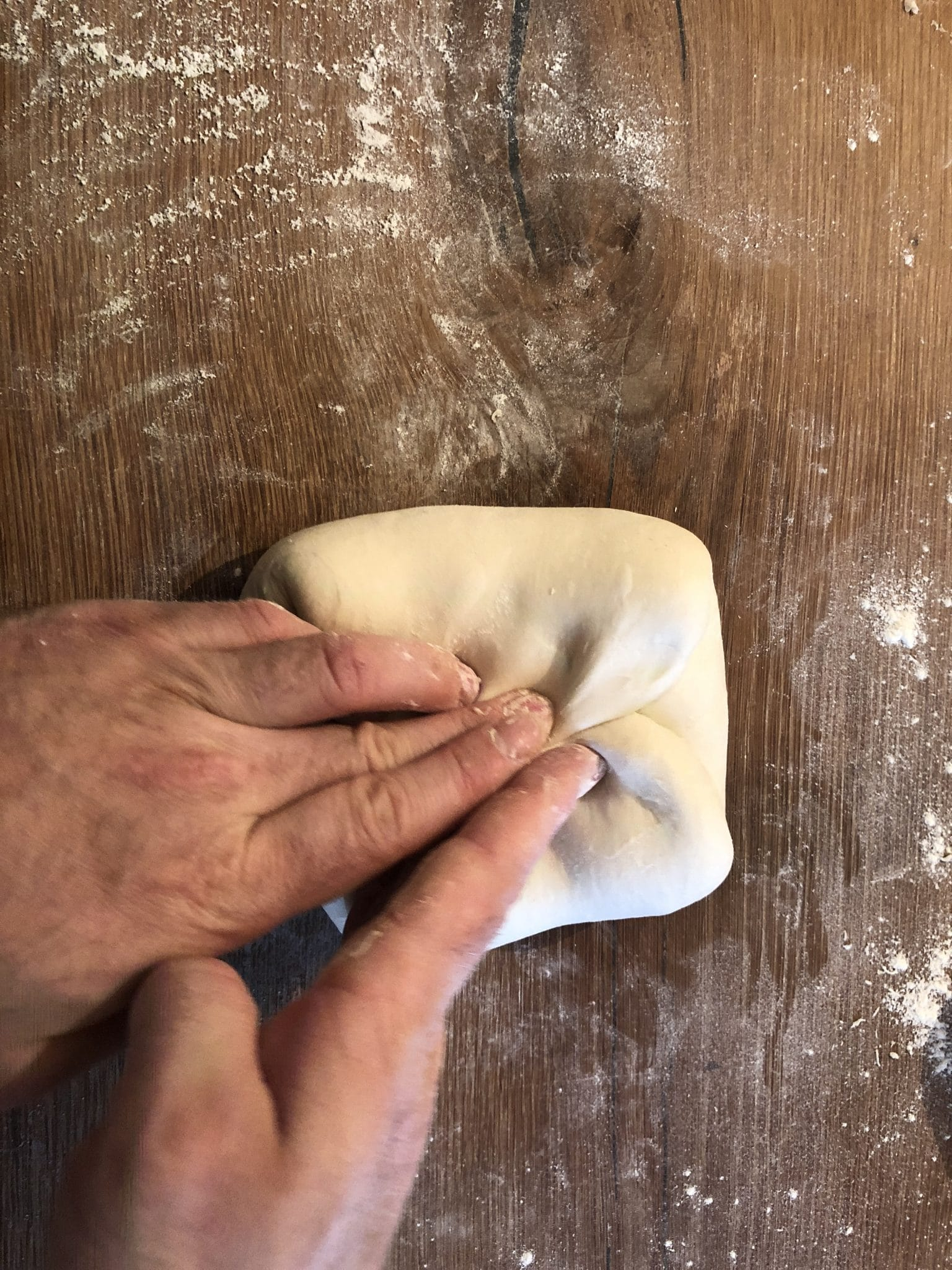Shaping a tin loaf 9