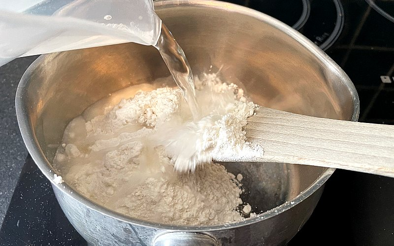 Use a Tangzhong to make bread less chewy