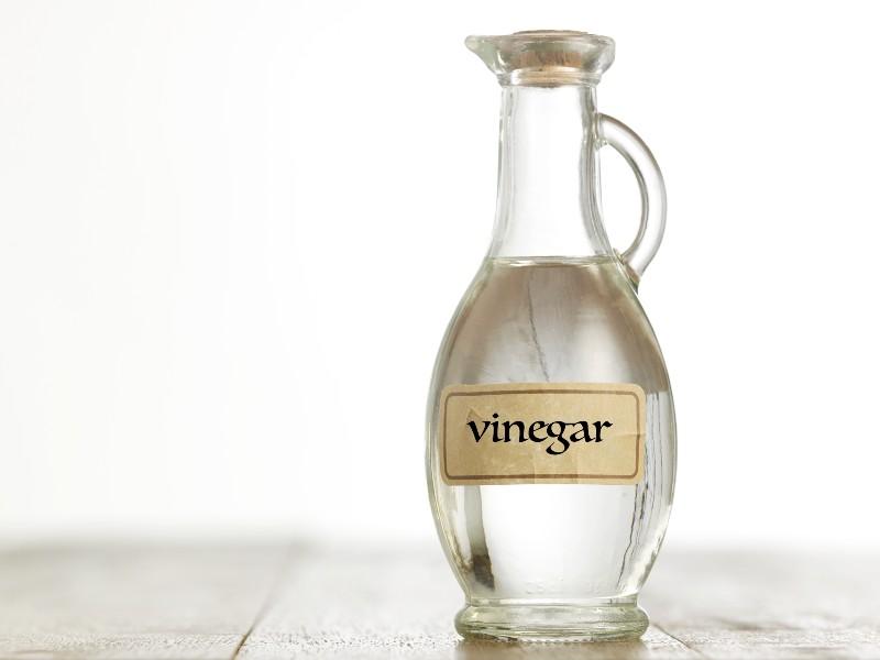 Vinegar for baking bread tips