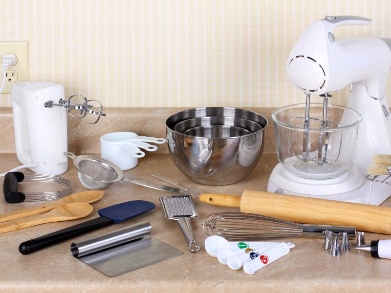 Baking equipment for your home bakery set up
