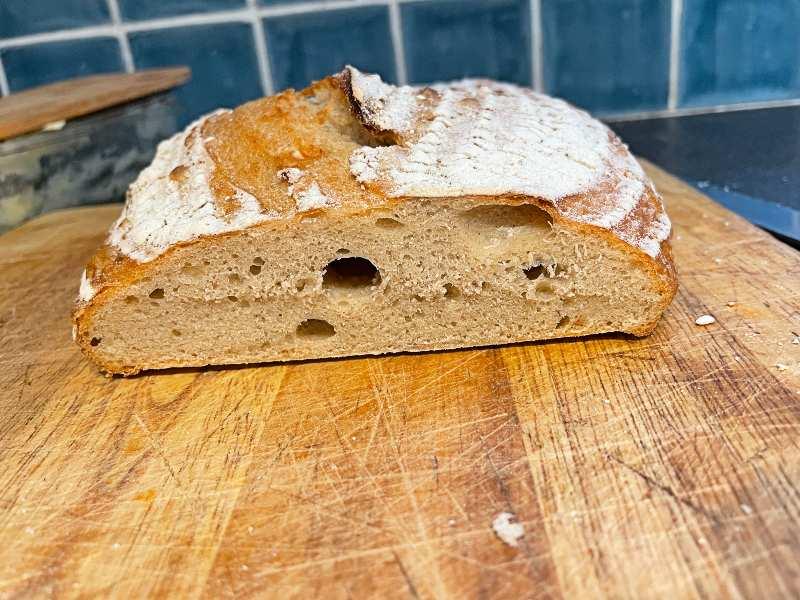 Sourdough bread too dense