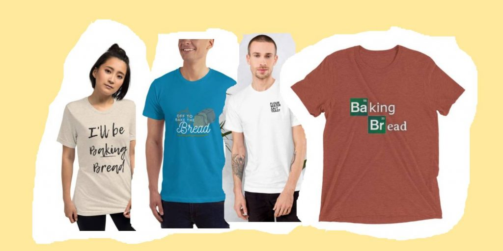 Baker t-shirts from the Busby's Bakery shop
