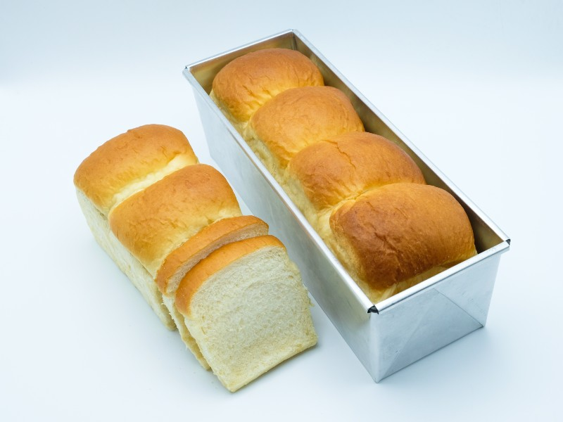 The most popular style of sandwich bread is the Pain de Mie