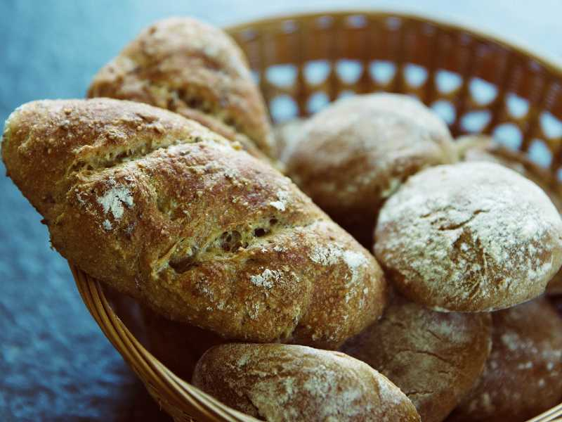 Use spelt bread for a more wholesome taste